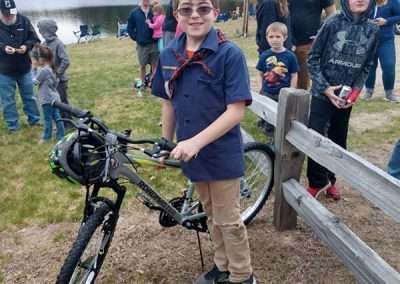BikeRaffle Winner Age 10-12