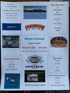 2nd Annual Winter Carnival, hosted by New Durham Parks & Recreation @ Farmington Fish & Game Club Pone   New Durham   New Hampshire   United States
